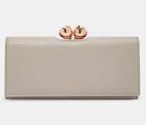Leder-portemonnaie Mit Kugel-verschluss