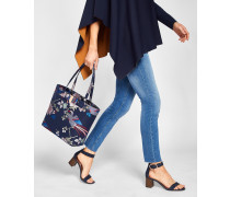 Shopper mit Chinoiserie Jacquard-Print