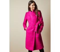 Mantel aus Wolle mit Schalkragen