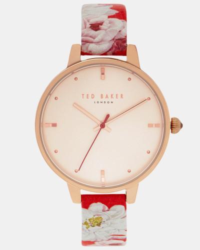 Uhr mit Iguazu-Print Auf Dem Armband