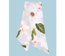 Schmaler Schal mit Chatsworth Bloom Print