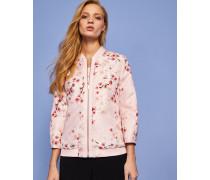 Bomberjacke Mit Soft Blossom Jacquard-print