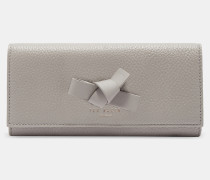 Leder-Portemonnaie mit Mini-Knoten