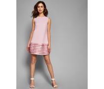 Etui-Kleid mit Satin-Schlaufen