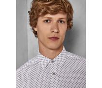 Weiches Hemd mit Geometrischem Print