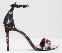 Oriental Blossom-sandalen Mit Knöchelriemen
