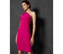 Schulterfreies Plissee-Kleid