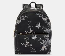 Rucksack mit Orient Jacquard-Print