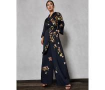 Pyjama-Jumpsuit mit Arboretum-Print