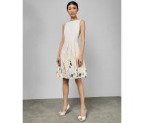 Kleid mit Ballonrock und Elegant-Print