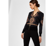 Versailles-Cardigan mit Zipper