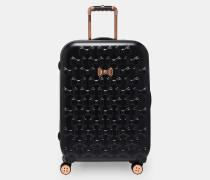 Mittelgroßer Koffer mit Schleifendetail