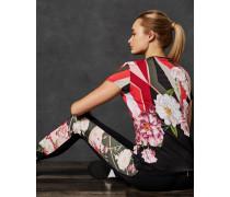 Lange Leggings mit Sahara Bloom-Print
