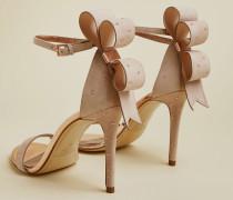 Stud Det Oversized Bow Sandal