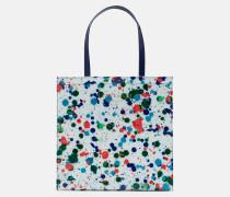 Shopper mit Paint Splash-Print