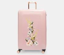 Großer Koffer mit Elegant-Print