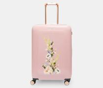 Mittelgroßer Koffer mit Elegant-Print