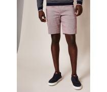 Schmale Leinen-Shorts