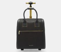Reisetasche mit Kroko-Prägung