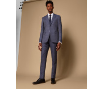 Schmale, Karierte Debonair-Anzughose aus Wolle