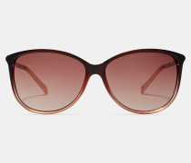 Sonnenbrille mit Ombré-Effekt