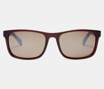 Sonnenbrille mit Gestreiftem Bügel