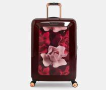 Mittelgroßer Koffer Mit Porcelain Rose-print