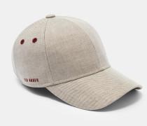 Baseball-Kappe aus Beschichtetem Leinen