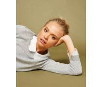 Pullover aus Woll-Seiden-Mix