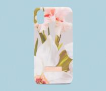 Iphone X-hülle Mit Chatsworth Bloom-print