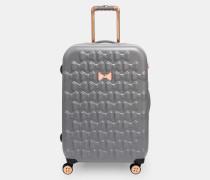 Mittelgroßer Koffer mit Schleifenverzierung