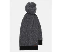 Schal aus Donegal-Wollgemisch