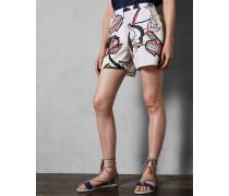 Shorts mit Jungle-Print