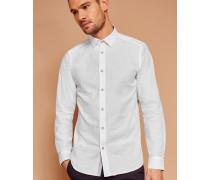 Hemd aus Jacquard-Baumwolle