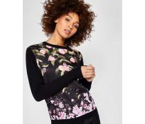 Pullover mit Peach Blossom-Print