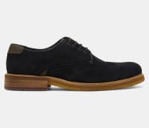 Klassische Derby-Schuhe aus Veloursleder