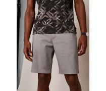 Baumwoll-Shorts mit Geometrischem Fußball-Print