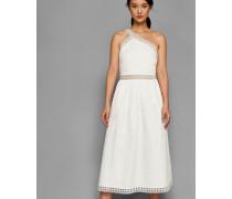 Asymmetrisches Baumwoll-Kleid