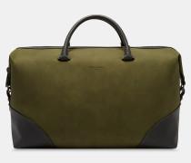 Reisetasche mit Ecken in Kontrastoptik