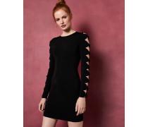Bodycon-Kleid mit Strickärmeln