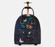 Reisetasche aus Nylon mit Houdinii-Print