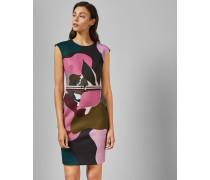Bodycon-Kleid mit Maple Swirl-Print