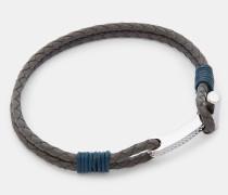 Leder-armband Mit Rändelung