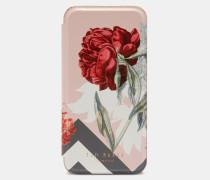 Iphone 6/6s/7/8-flip-hülle Mit Palace Gardens-print