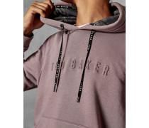 Logo-Hoodie aus Baumwollgemisch