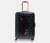 Mittelgroßer Koffer mit Houdinii-Print