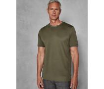 T-Shirt aus Baumwolle mit Rundhalsausschnitt