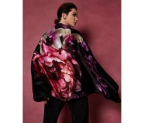 Cape-Schal aus Seide mit Splendour-Print