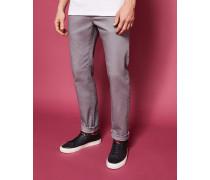 Gerade Geschnittene, Gefärbte Jeans