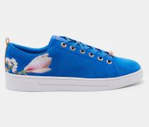 Wildleder-sneakers Mit Harmony-print